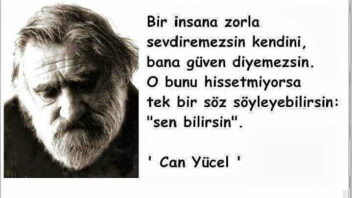 CAN YÜCEL  Unutma!